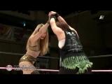 DASH Chisako, KAORU (c) vs. Cassandra Miyagi, Heidi Katrina (Sendai Girls)