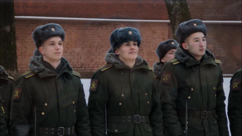 Рота почетного караула Смоленского гарнизона. 2018 год.