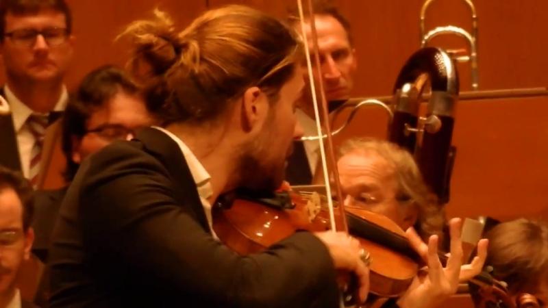 David Garrett 26.04.2013 Düsseldorf Tonhalle M.Bruch Violinkonzert Nr.1 in g-Moll op. 26, 3. Satz