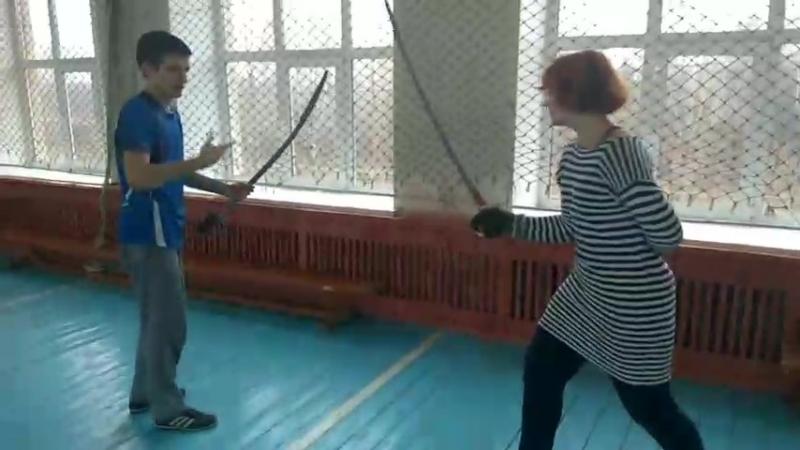 Тренировка по фехтованию. СКИФ
