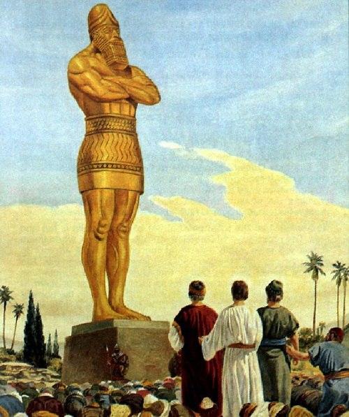золотая статуя бога мардука