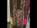 Платье на шелковом подкладе с роскошной гипюровой сеткой сверху.