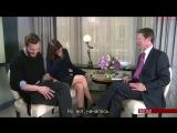 Интервью Джейми Дорнана и Дакоты Джонсон для BBC Breakfast (2015) русские субтитры