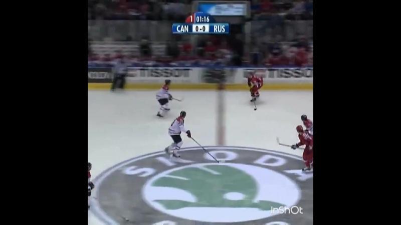 Финал ЧМ 2008 Россия -Канада 100 лет хоккею