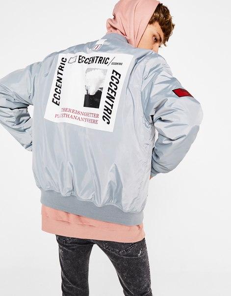 Куртка с принтом