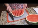 КАК НАРЕЗАТЬ АРБУЗ красиво и быстро. Три способа. HOW to slice watermelon