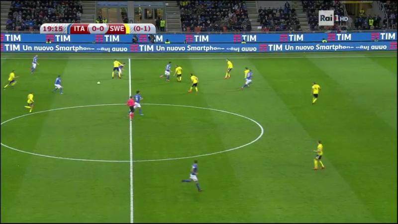 Italia - Svezia (first Halftime)
