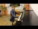 Гуц Андрей - С. Майкапар «Стаккато - прелюдия»