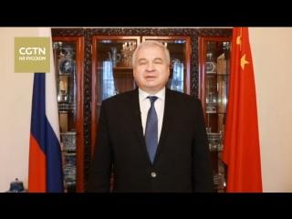 Счастливого Нового года пожелали жителям Китая послы России, Беларуси и Казахстана