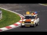 Смешные и необычные моменты с гонок (VHS Video)