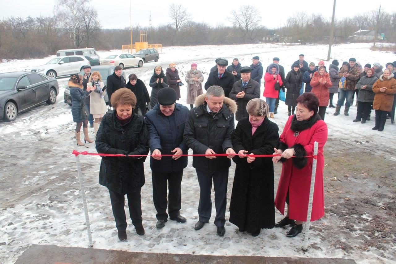 В Большесолдатском районе открыли новый фельдшерско-акушерский пункт