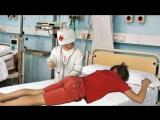 Дети играют в доктора - Смещение шейных позвонков, упал на горке