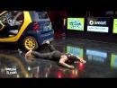 Le danseur hip-hop B-boy Junior et smart @ Break the Floor 2013