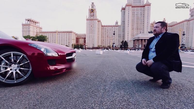 Тест-драйв от Давидыча Mercedes SLS 63AMG Cabriolet