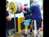 Тимур Гадиев приседает 380 кг
