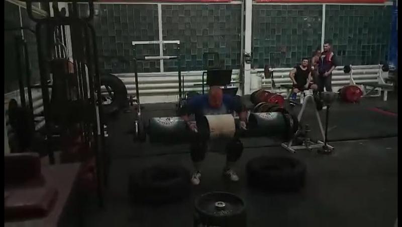 Тренировка оверхедов: йок 120камень 85бревно 130кег 95штанга 120 СилаСибири КолмаковСтайл