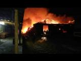 Пожар на Героев Хасана
