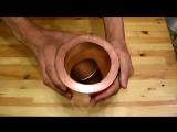 Кидание магнита в трубу из меди