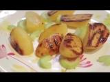 Рецепт Как приготовить курицу с черносливом и картофелем гриль Simple Food видео