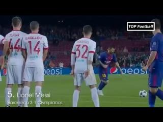ТОП-10 лучших голов 3-го тура Лиги Чемпионов