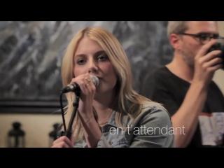 Мелани Лоран исполняет песню En t'attendant