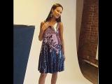 1001DRESS  Shiny dress