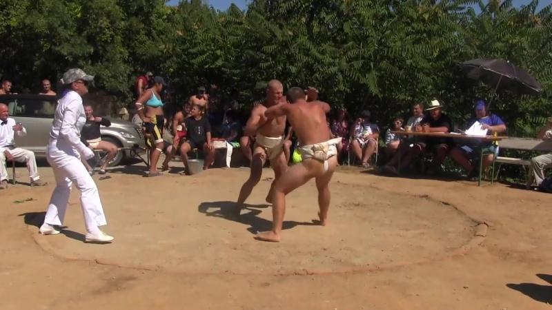 Чемпионат Украины по сумо 31.08.2013г. п.г.т. Утес[1е]