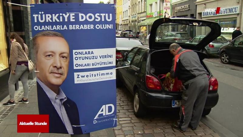 Bundestagswahl 2017 - Allianz Deutschen Demokraten - Zweitstimme für Erdogan So greift die Türkei in die Bundestagswahl ein