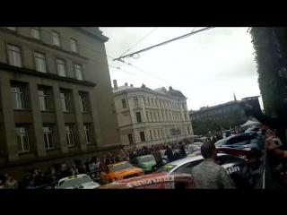 Gumball Riga Nine-Eleven Porsche revs a lil :P