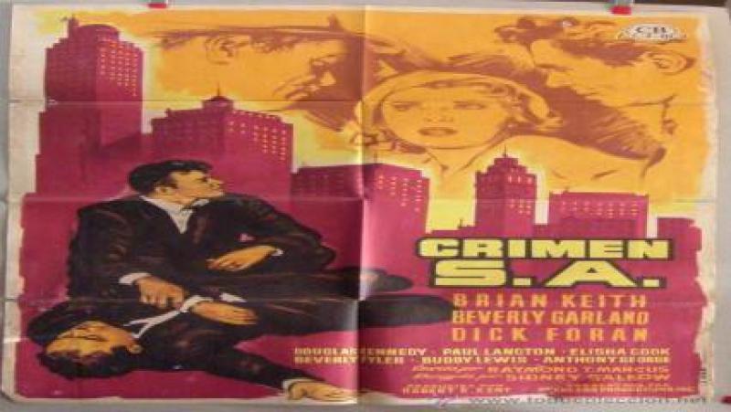 Cine Negro.- Crimen, S.A.- (1957).Español