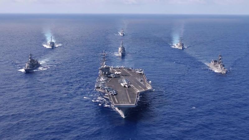 Переговоры между испанцами и американцами на частоте 'Экстремальные ситуации в море'.mp4