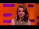 Maisie Williams Reveals Arya Stark's Game of Thrones Kill List   The Graham Norton Show coub