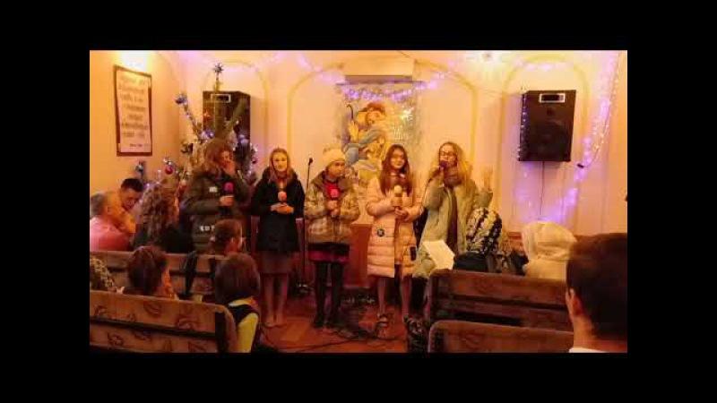 Церковь ЕХб города Боброва - Рождественская сценка