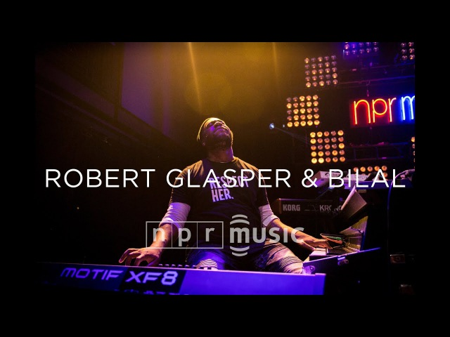 Robert Glasper Bilal At NPR Music's 10th Anniversary Concert