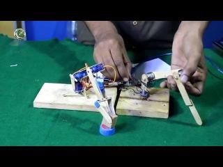 Amazing Mini Robotic Arm made from micro servos
