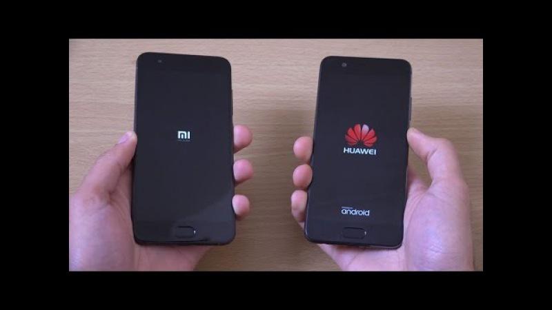 Xiaomi mi6 vs Huawei P10 - Speed Test!