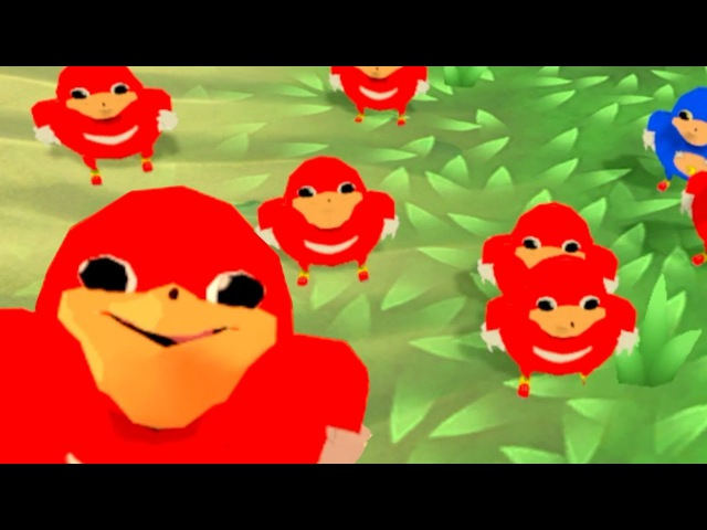 VRChat but Knuckles shows the way