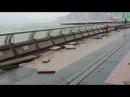Typhoon Hato Flooding Wan Chai, Hong Kong BREAKING TyphoonHato 高美士街變高美士河