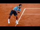 Roger Federer v Robin Soderling French Open 2009 Final