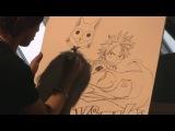 Master Class Hiro Mashima (Fairy Tail) à Japan Expo 201