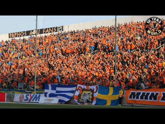 Ultras World in Nicosia - APOEL vs AEL 22.04.2014