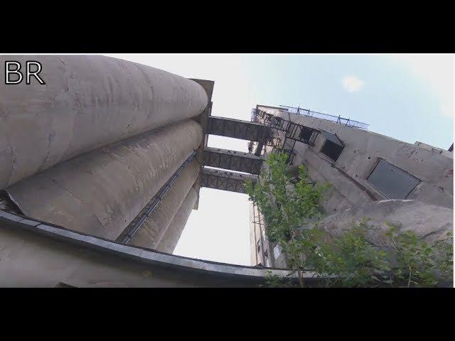 Заброшенный мукомольный завод, Нижний Новгород / roofing 100 м.