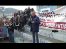 Greece: 'Lesbos is an island prison' - Striking residents warn of refugees' conditions