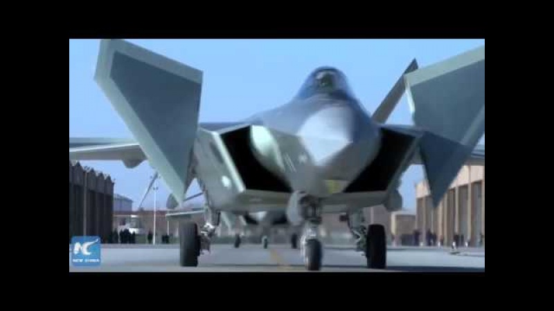 Chinas J-20 stealth fighters and Su-35 jets in combat training