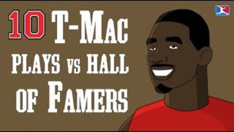 10 of Tracy McGrady's Best Plays Against Fellow Hall of Famers