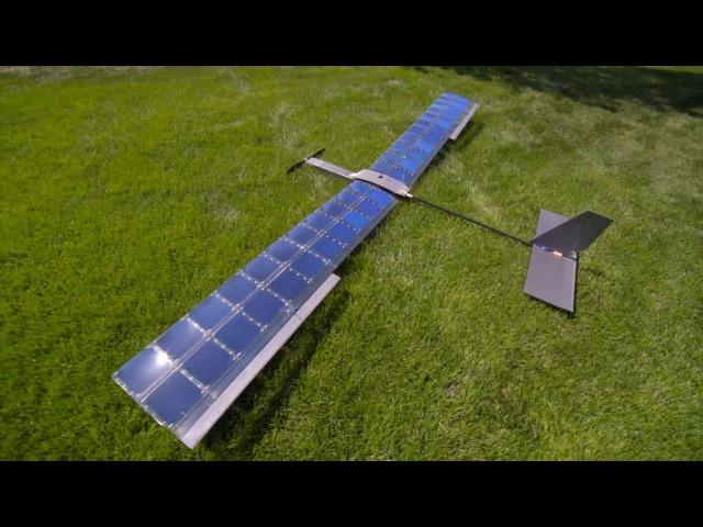 SOLAR Plane V3 Long Duration Test Flight RCTESTFLIGHT