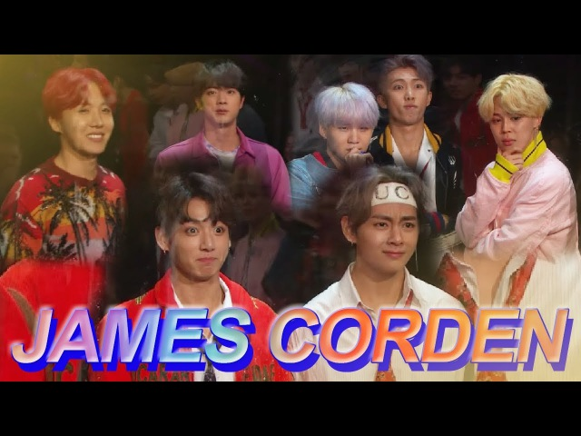 BTS JAMES CORDEN l BTS ON CRACK 4 l THINGS YOU DIDN'T NOTICE