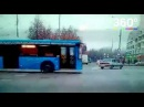 ДТП с автобусом на Сходненской попало на камеру регистратора