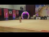 Salos Anastasiia (Belarus) - 13.6 - Ball - Level 10 Senior - LA Lights 2018