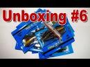 Unboxing 6 Копии Oneten Magnum Sakura Slit Shad Daiwa Bubble Shrimp Easy Shiner и другие